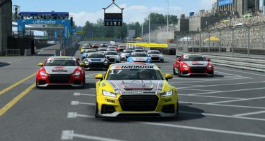 TCTwo | Audi Sport TT Cup Online Series – win a testride in the racecar!