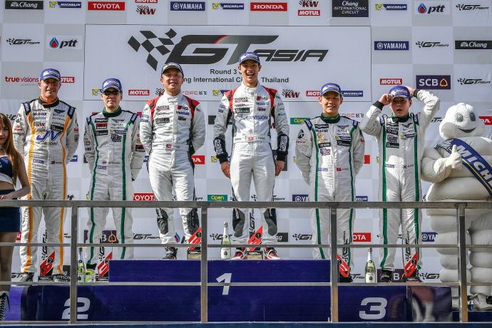 2016-2016 GT Asia Series - Thailand 0616---GTAsiaSeries_BIC_R1_podium_110616_med