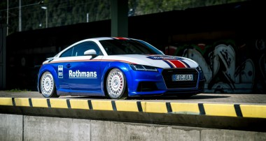 Audi TT in Rothmans Style with Super+ Rims and KW suspensions