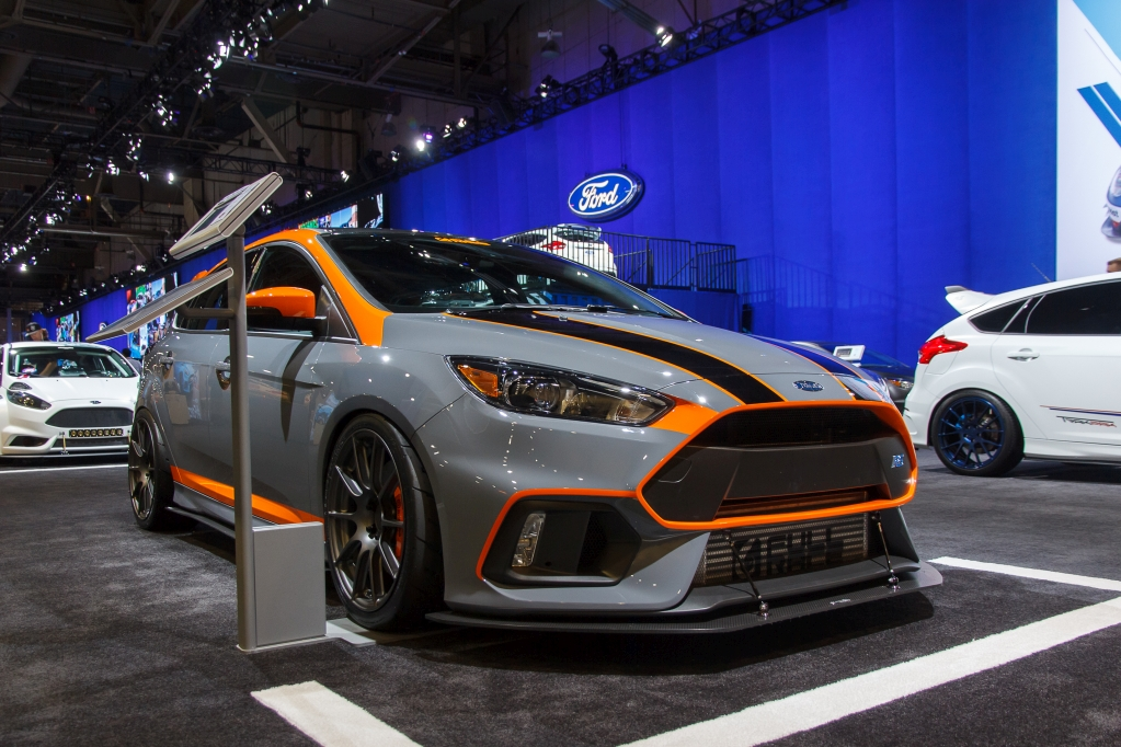 SEMA 2016: Concept RS by Full Race Motorsport with KW V3 suspension