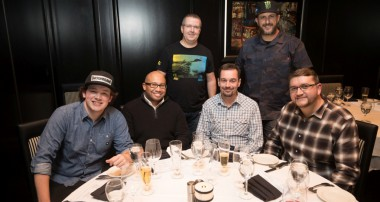 Private STeak dinner with Ken Block & Friends