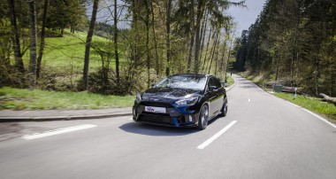 Improved lateral dynamics for latest Ford Focus RS: KW Variant 3 available