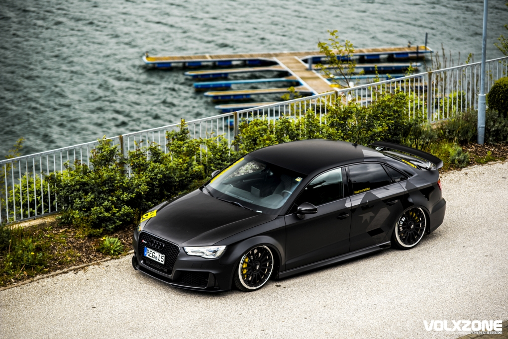 Audi S3 sedan getting the RS3 Look