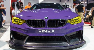 Right from the SEMA 2016: the powerful M4 GTS Plus from IND Distribution