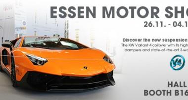 KW @ Essen Motor Show 2016: Premiere of KW Variant 4