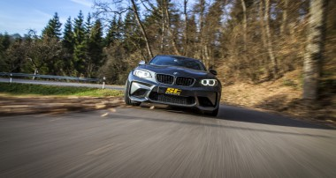 ST springs and wheel spacers are available for BMW M2