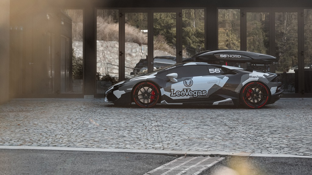 Jon Olsson's 800 bhp Winter Huracán LP 610-4 with KW height adjustable springs