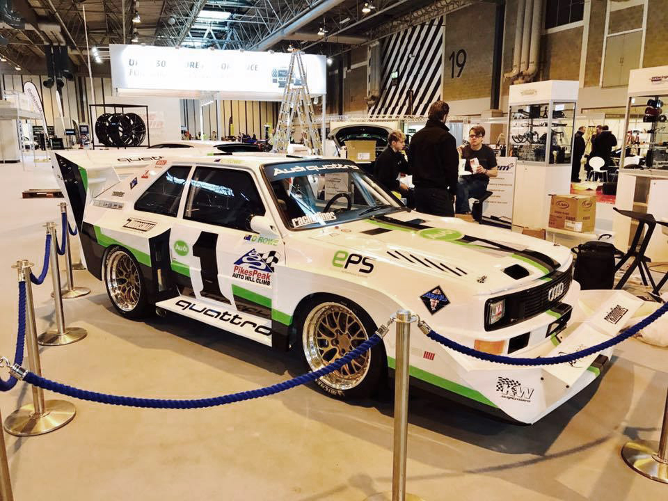KW suspensions customer cars at Autosport International 2017