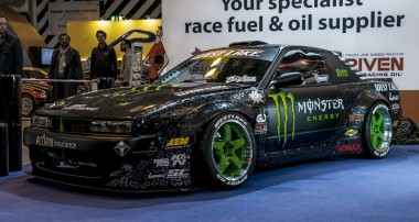 ST suspensions Drifter Baggsy unveil his new race car ahead of the season