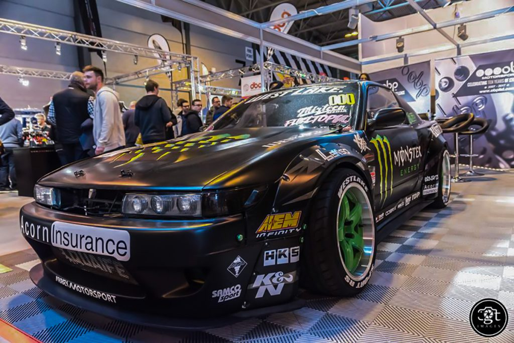 Famous UK ST suspensions Drifter Baggsy at Autosport International 2017