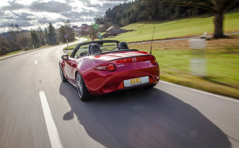 The Roadster season can begin: ST coilovers for Fiat 124 Spider and Mazda MX-5 now available