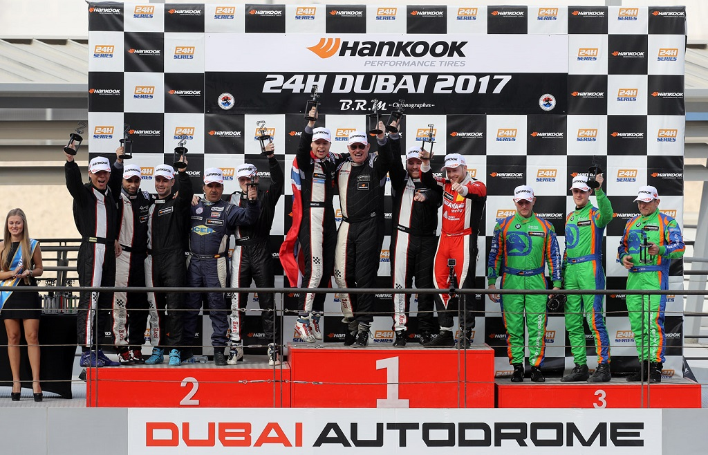 Successful long-distance-race start-off for KW customer teams:  Double victory in Dubai!