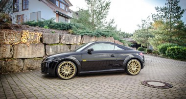 Perfect handling for the current Audi TT: ST XTA Coilovers with top mounts