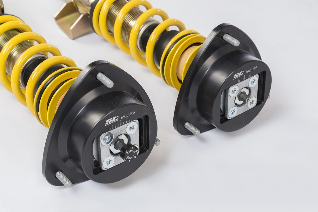 The ST XTA features adjustable rebound forces and topmounts