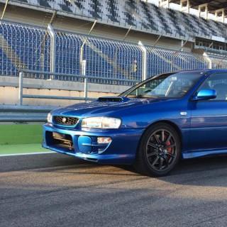 ST suspensions program for the classic Japanese Subaru boxer