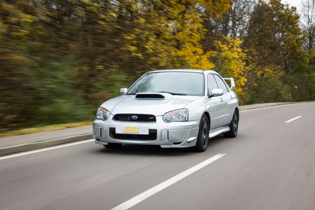 ST XTA coilovers for Subaru Impreza