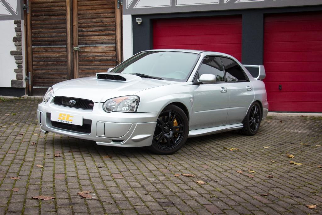 ST XTA coilovers for Subaru Impreza