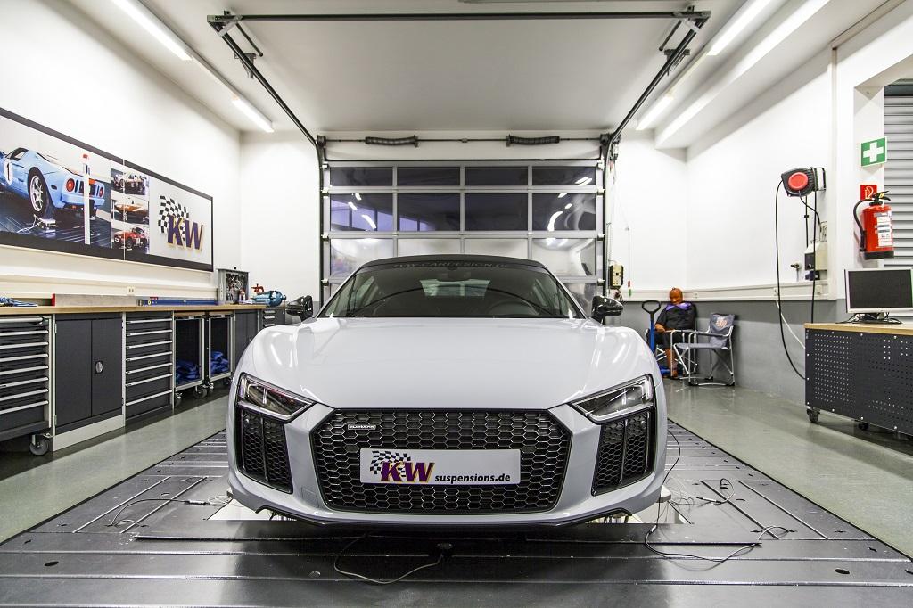 KW automotive is showcasing at the Auto Salon Geneva