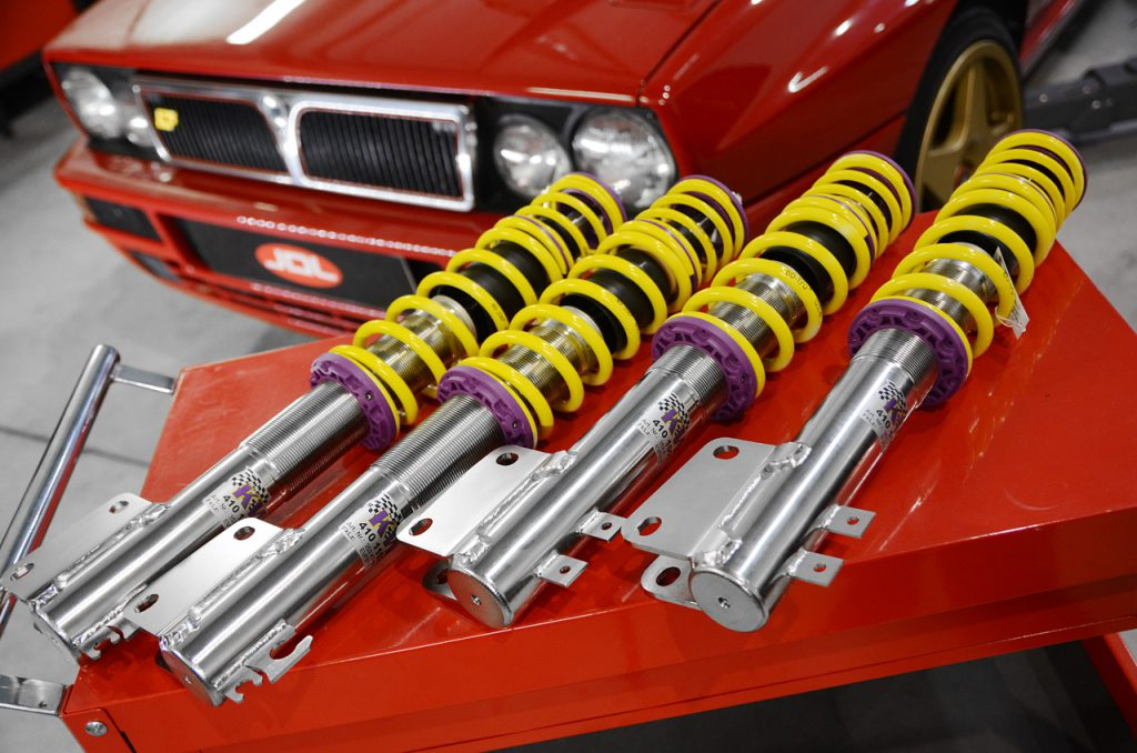 KW classic suspensions program for classic cars and young classics.