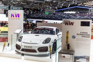 Preview: KW automotive at the Auto-Salon Geneva – you'll find us in Hall 2