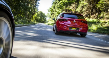 ST suspensions increase handling and driving pleasure in the Opel Astra K