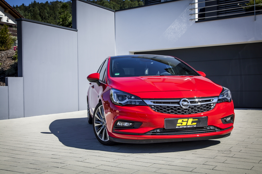 ST suspensions develops a ST X coilover kit for Opel / Vauxhall Astra K