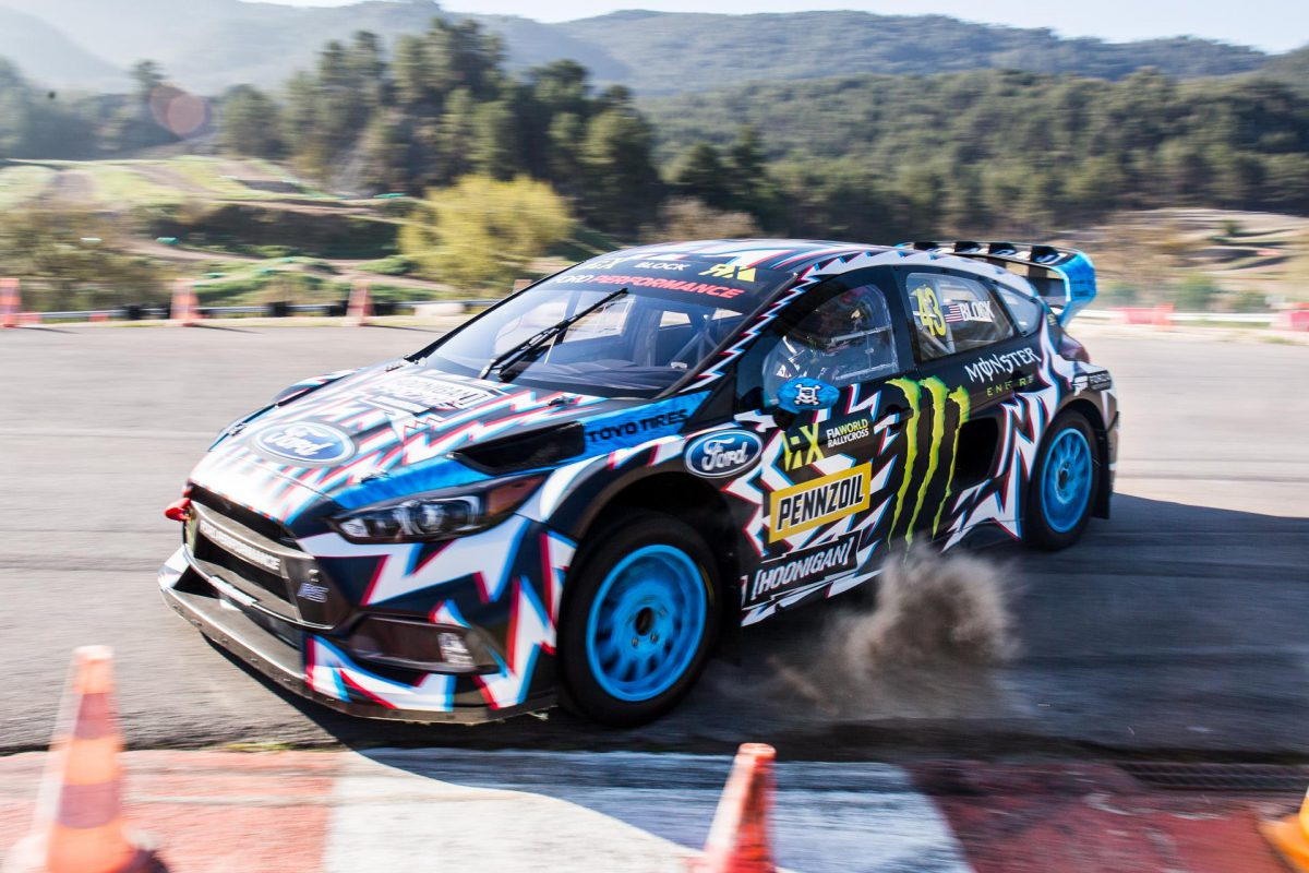 Ken Block Hoonigan Racing Livery 2017