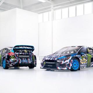 HOONIGAN RACING DIVISION'S ALL-NEW 2017 LIVERIES DESIGNED BY ARTIST DEATH SPRAY CUSTOM