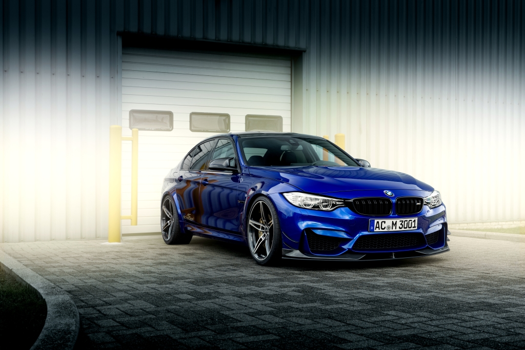 Fastest sedan at the Sachsenring Germany: AC Schnitzer M3 with KW Clubsport