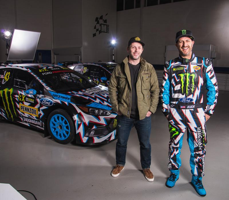 Hoonigan Racing Livery 2017