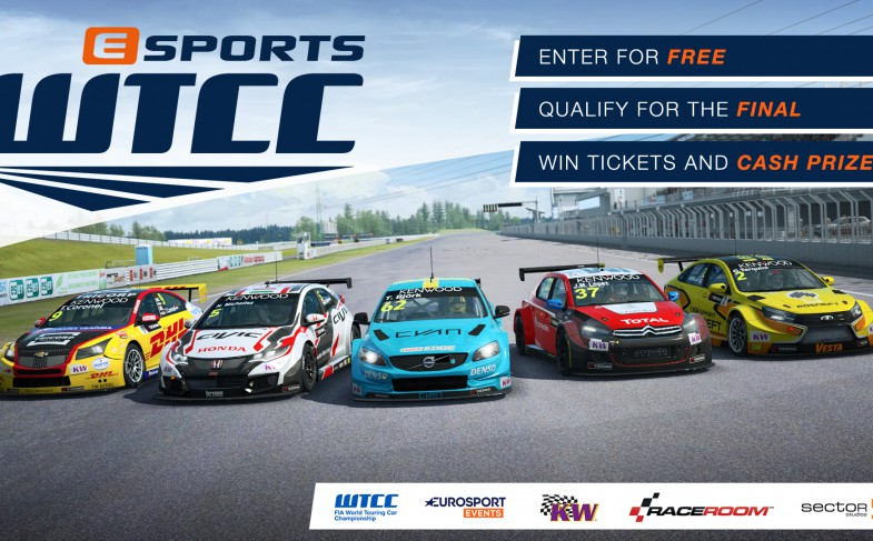 Join now for free: eSports WTCC 2017!