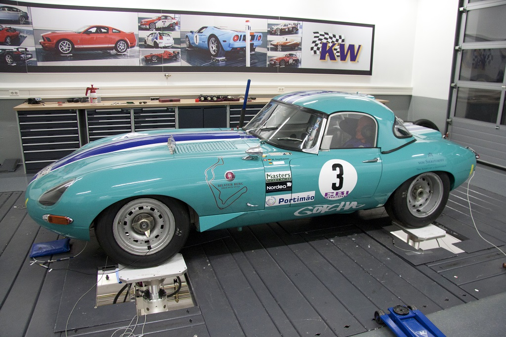 KW classic suspension Jaguar E-Type