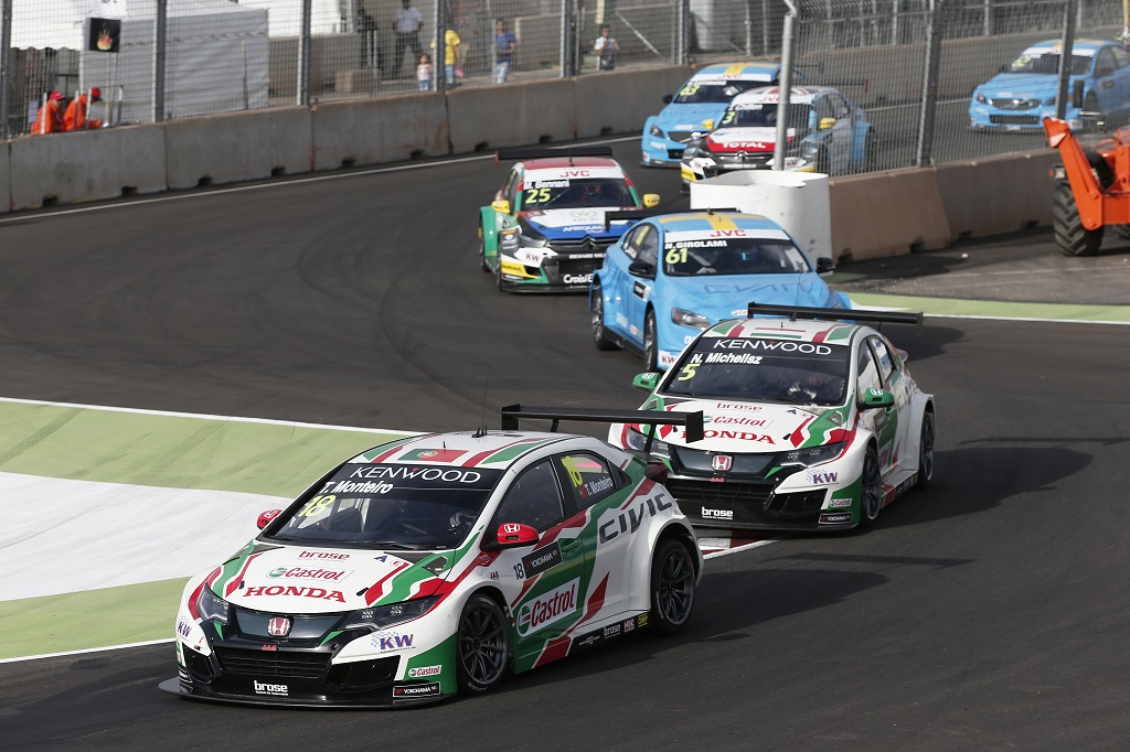 FIA WTCC World Touring Car Race of Morocco at Marrakech, from April 7 to 9