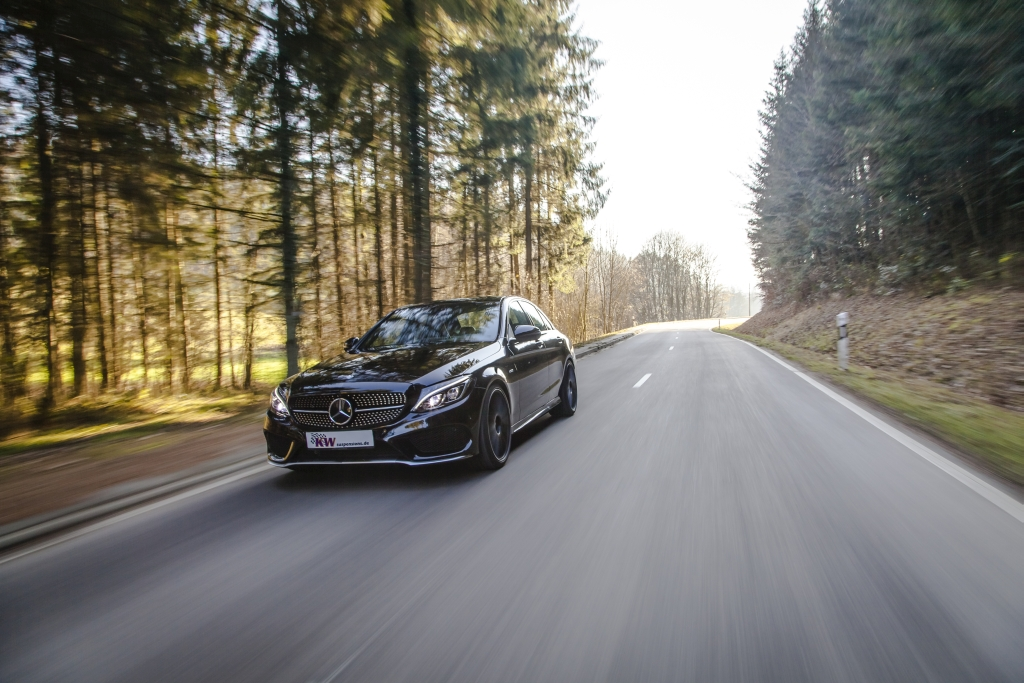 KW Variant 3 for Mercedes-Benz C Class 4MATIC