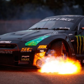 The ST suspensions R35 GTR and Battle Drift – 2017