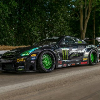 Hanging around with the ST GT-R in Norway and Goodwood Festival of Speed …