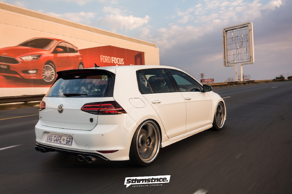 New kind of African OEM+ Style: VW Golf 7R with KW DDC | KW