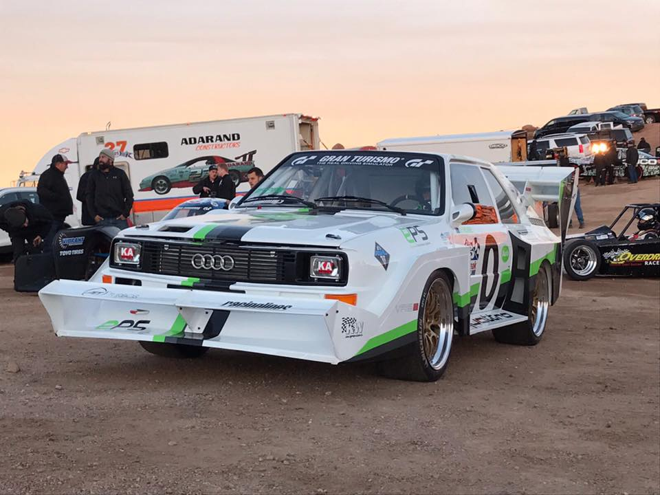 "Legends never die! A KW customer started last weekend in a S1 at the ""Pikes Peak hill climb"""