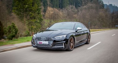 Extensive KW suspension program for Audi S5 (B9) Coupé