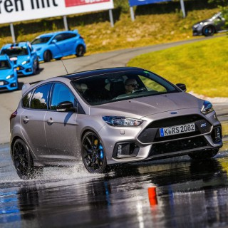 In the driving mirror: ST Sports car driver training in the Ford Focus RS
