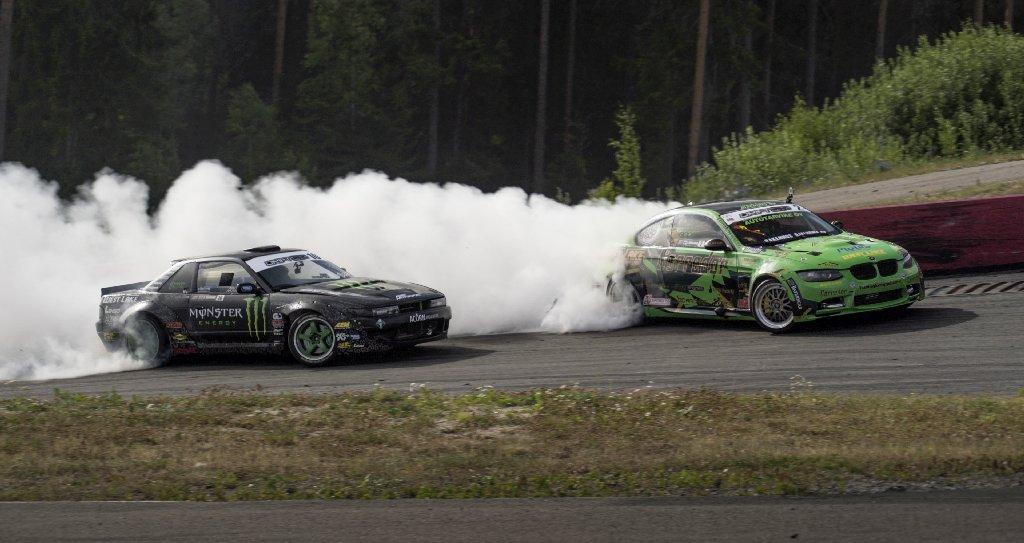 ST suspensions Drifter Steve Biaggioni in Sweden