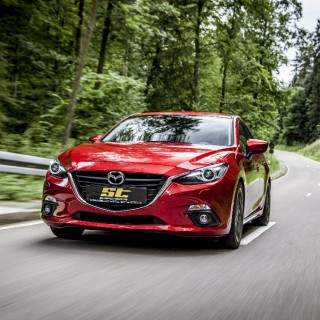 Handcrafted in Germany: ST coilovers and more for your Mazda 3!