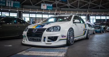 Made in Japan: A Jetta rocks the Wekfest with KW V3 and Super+