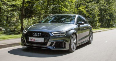 Increase the handling and driving dynamics of your Audi RS3!