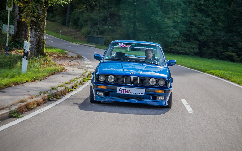And with KW suspensions, also the unique character of the popular E30 remains and the driving pleasure doesn't come up short.