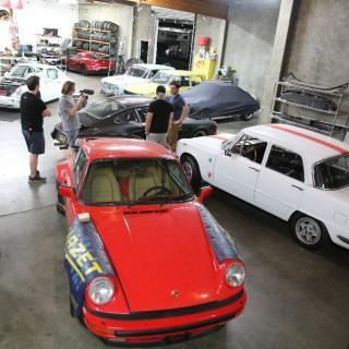 Little Italy in Montebello L.A.: Visiting DV Mechanics