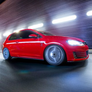 Everything from one source: Driving dynamics³ for your VW Golf