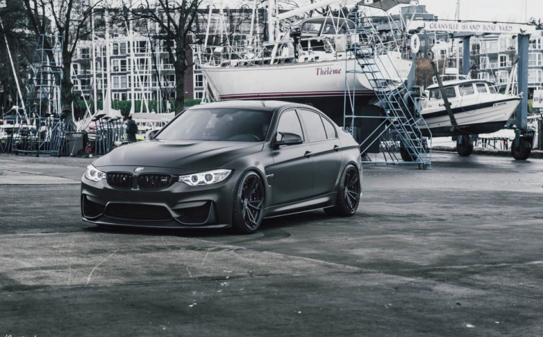 Daily Stance: BMW M3 meets KW Variant 3 and Brixton Forged Wheels!