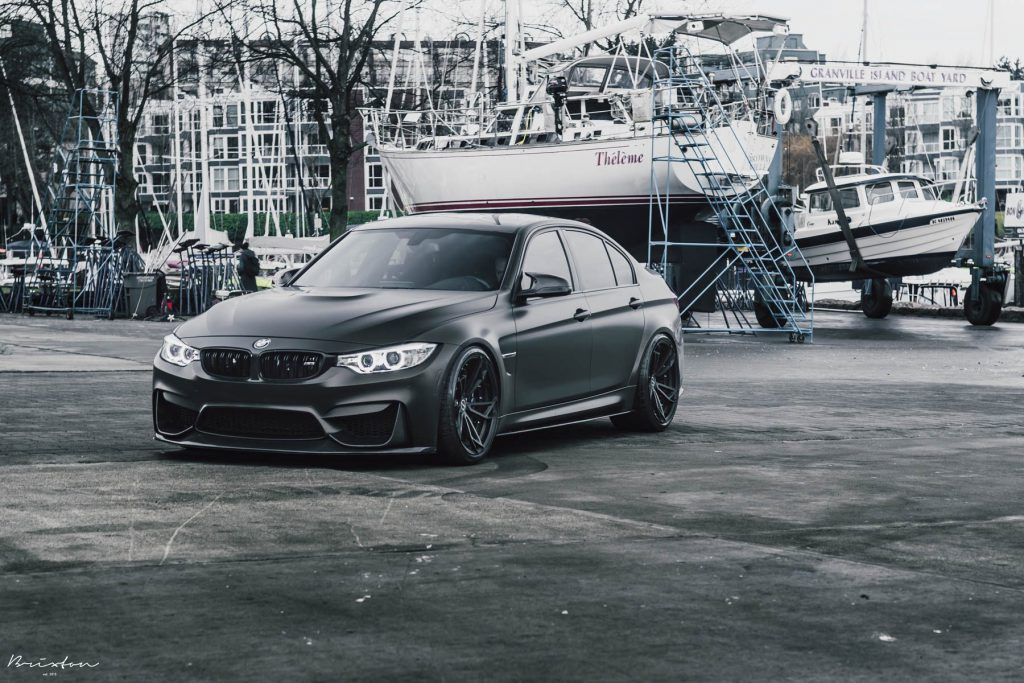 Daily Stance Bmw M3 Meets Kw Variant 3 And Brixton Forged Wheels