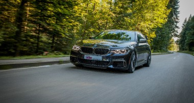 Improved Driving Experience and Stance: KW V3 for BMW M550i xDrive and all 4WD 5-series (G30)
